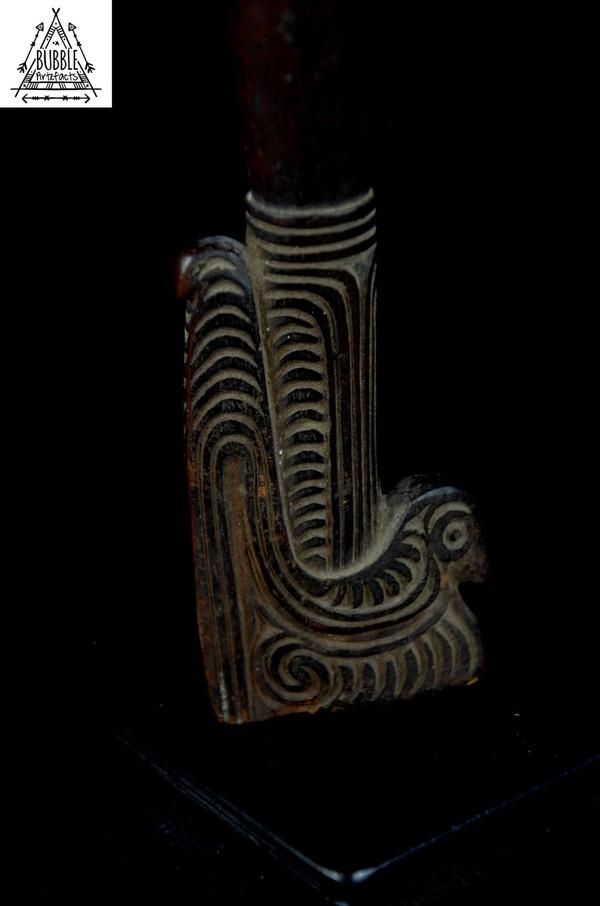 Fine Vintage Carved Massim Adze