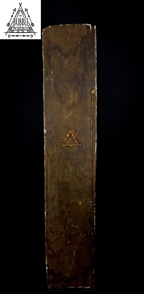 Stunning Rare Vintage Pop Tribal War Shield, Wahgi Valley
