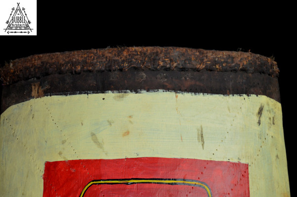 Rare Stunning Vintage Pop Tribal War Shield, Wahgi Valley