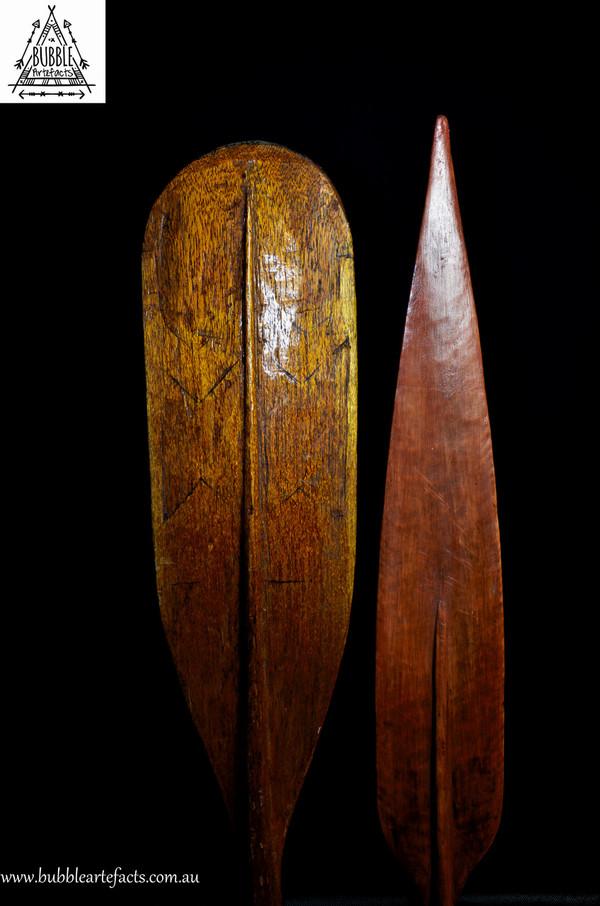 Rare Stunning Vintage Hand Carved Dugout, Ambunti Village