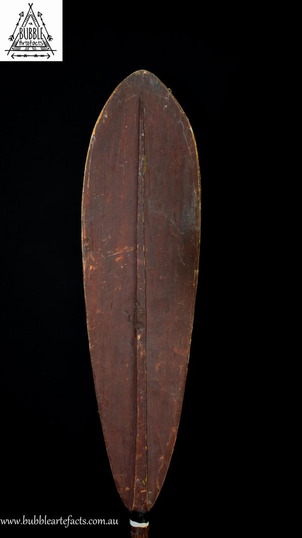 Rare Gogodala Canoe Paddle, Aramia River, Western Gulf.