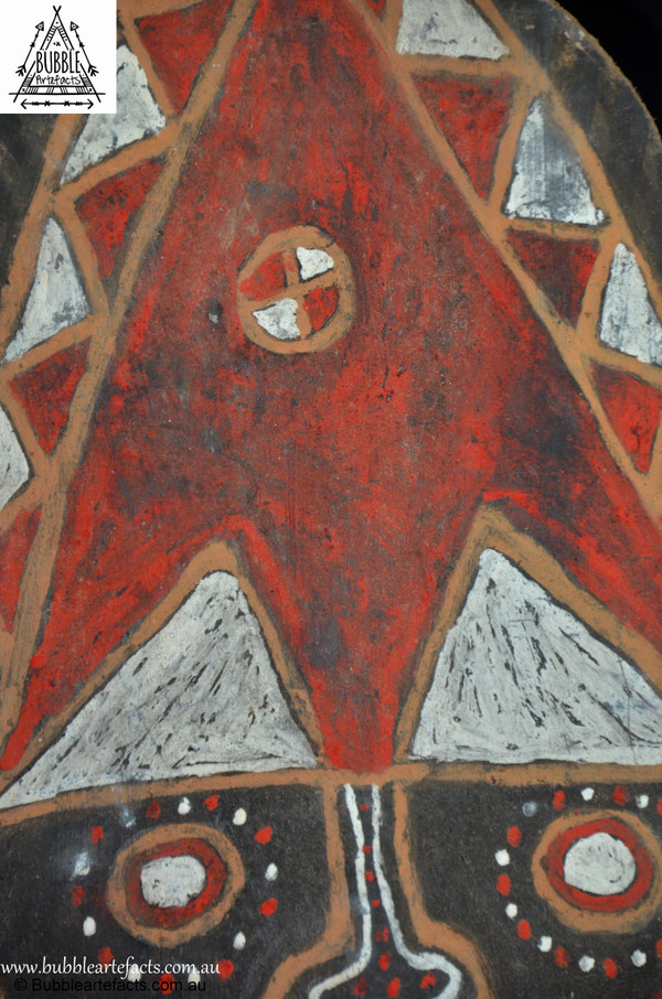 Superb Vintage Sago Bark House Panel, Washkuk