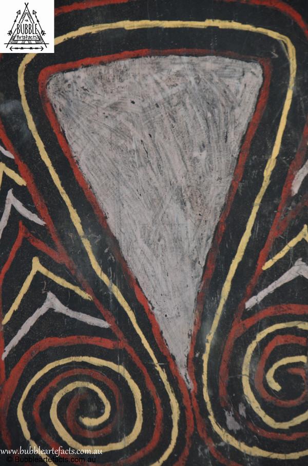 Wonderful Vintage Sago Bark House Panel, Washkuk