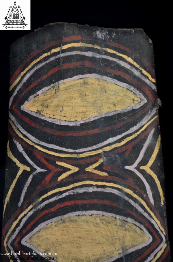 Wonderful Vintage Sago Bark House Panel, Washkuk.