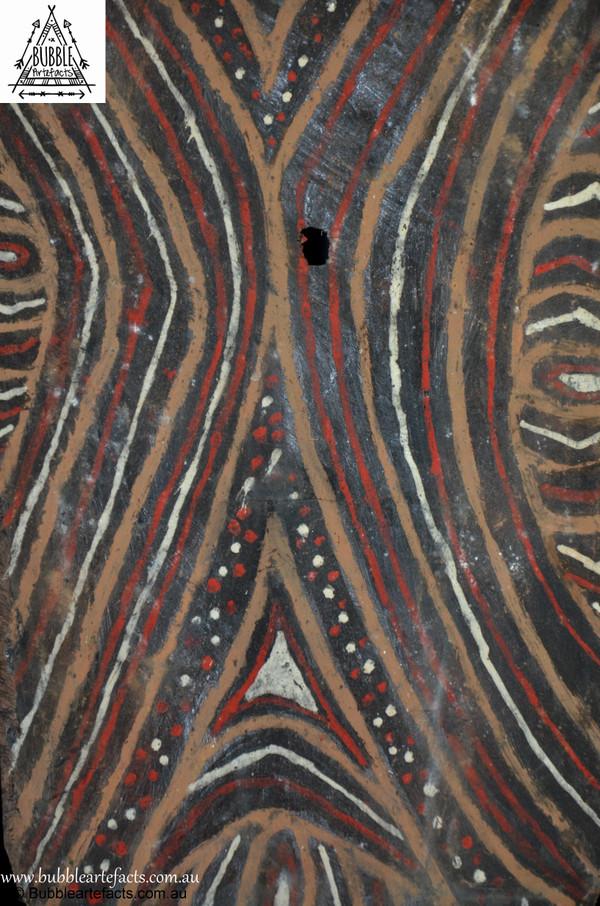 Stunning Vintage Sago Bark House Panel, Washkuk.
