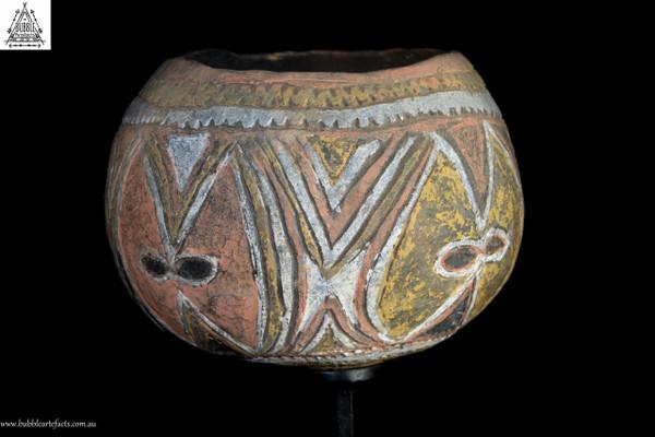 Old Fine Abelam Clay Pot, East Sepik