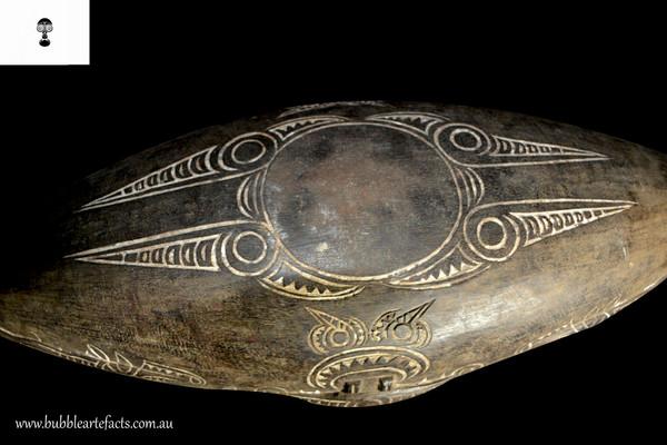 Beautiful Rare Old Ceremonial Bowl, Morobe Province, Huon Gulf, Siassi Islands