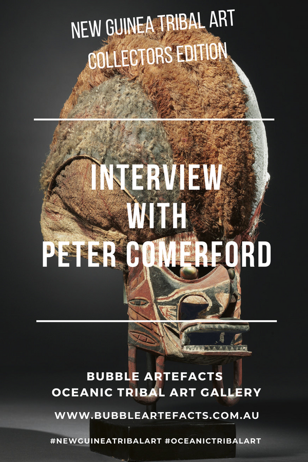 New Guinea Tribal Art - Collector Series featuring Peter Comerford