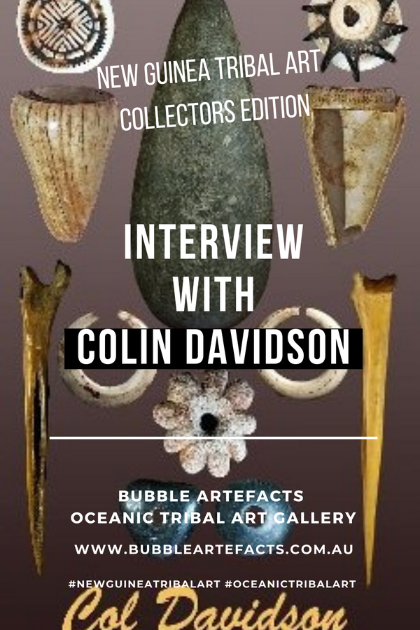 New Guinea Tribal Art - Collector Series featuring Colin Davidson