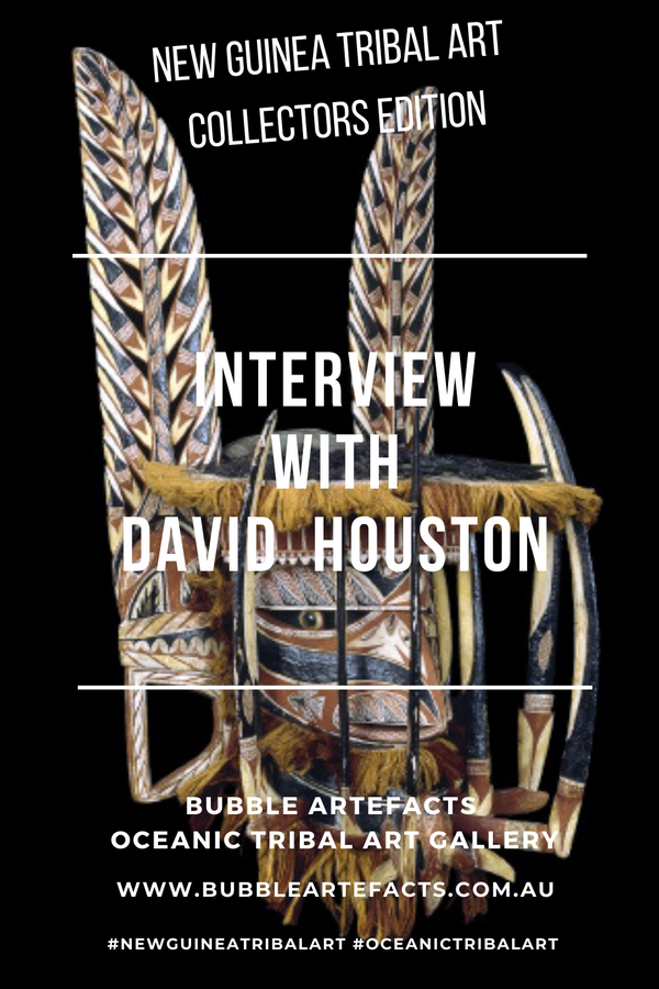 New Guinea Tribal Art - Collector Series featuring David Houston