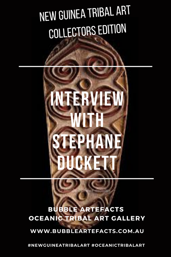 New Guinea Tribal Art - Collector Series featuring Stephane Duckett