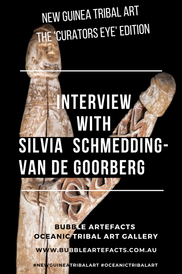 New Guinea Tribal Art  and Oceanic Tribal Art - Curator Series featuring Silvia Schmedding-Van De Goorberg