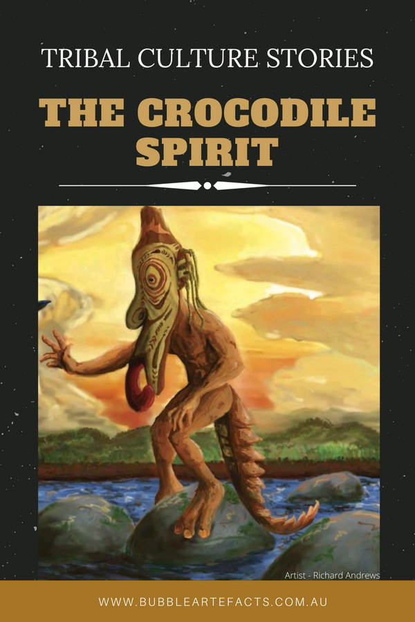 New Guinea Tribal Art and Culture Stories - 'The Crocodile Spirit'