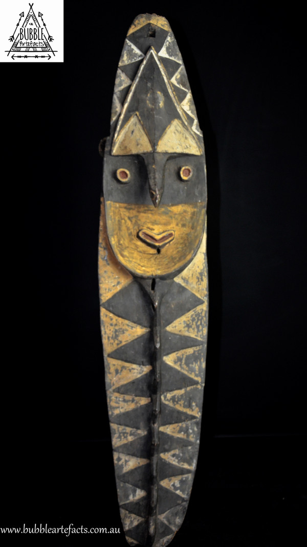 Stunning Fine Old Mindja Sculpture, Washkuk Mountains, Kwoma, Papua New Guinea, PNG