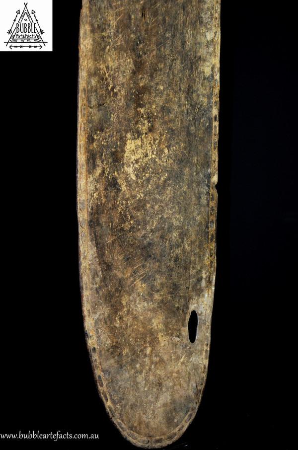 Rare Ceremonial Tray w/ Crocodile Head, Kandingai