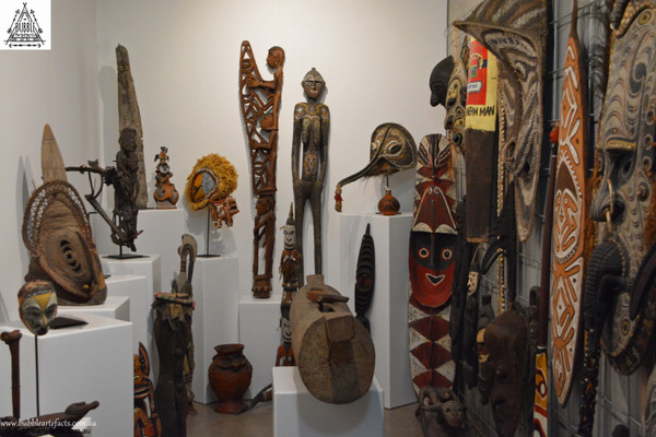 Opening of Bubble Artefacts Oceanic Ethnographic Tribal Art Gallery