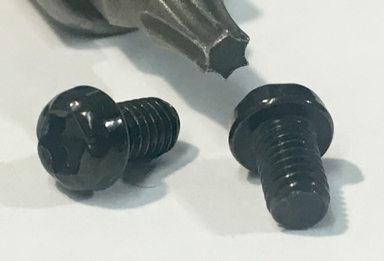 Black Torx Screw Set