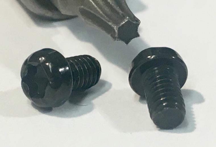 Black Torx Screw Set
