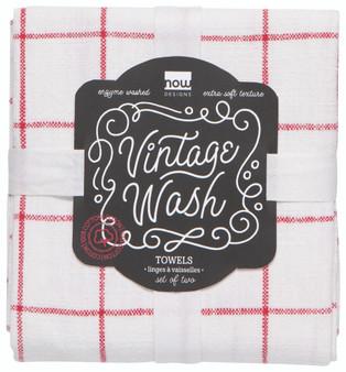 vintage wash towel