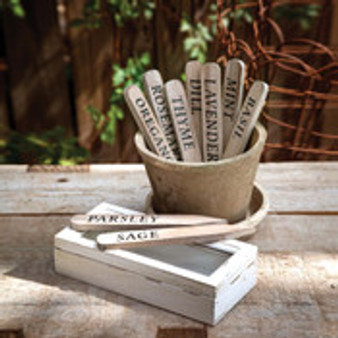 Wooden Herb Stakes