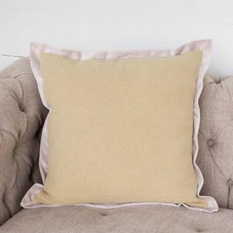 Maze Jute Velvet Pillow