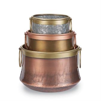 Bronzie Pot