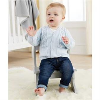 Light Blue Baby Cardigan