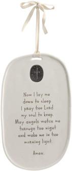 Goodnight Prayer Medallion Plaque