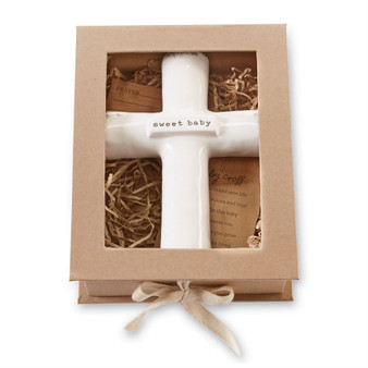 Sweet Baby Prayer Cross