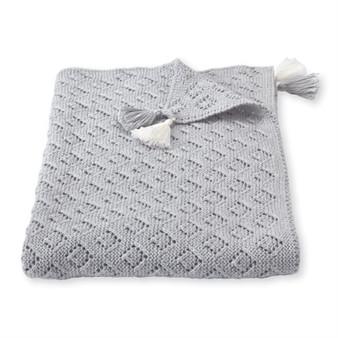 Pointelle Blanket