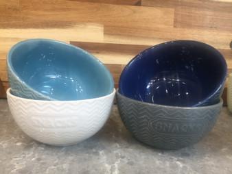 Set of 4 Translucent Snack Bowls