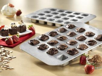 Brownie Bite Panel Pan (20 Well) 15.75x11.12x1.28