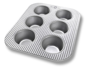 6 Cup Muffin Pan - 11.125x9x1.37