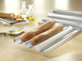 French Baguette Pan - 16x9 -