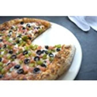 """Stoneware 14"""" Pizza Pan - White"""