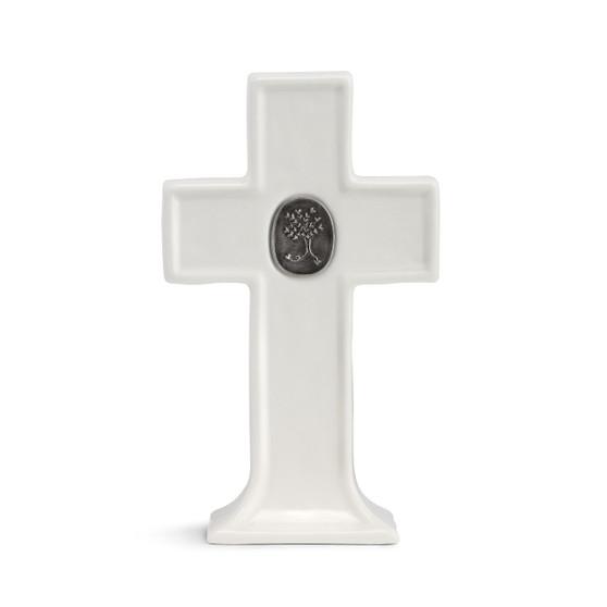 medallion standing cross