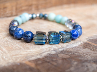 Be Calm - Aquamarine Bracelet