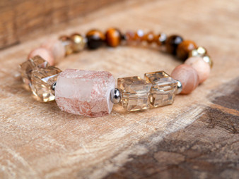 Good Feelings - Rose Quartz Bracelet
