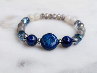 I'm a Savage - Lapis Lazuli Bracelet