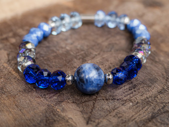 I'm so Lucky - Sodalite Bracelet