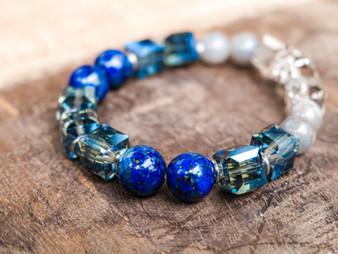 Be My Boyfriend - Lapis Lazuli Bracelet