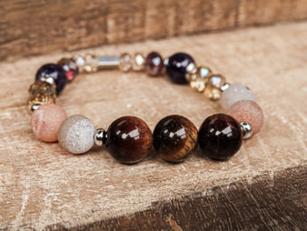 Be Strong - Tiger Eye Bracelet