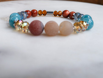 I am Too Perfect - Druzy Bracelet