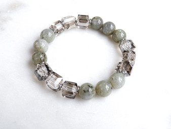 You Are My Soulmate - Labradorite Bracelet