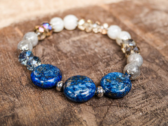 Yes We Can - Lapis Lazuli Bracelet