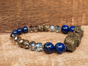I'm Too Perfect - Lapis Lazuli Bracelet