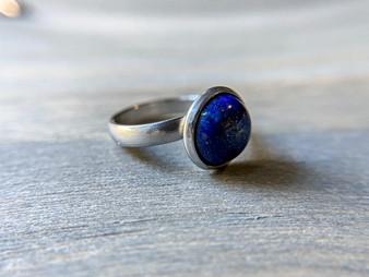Lapis Lazuli Ring - 10mm