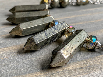 Boss Lady - Pyrite Necklace