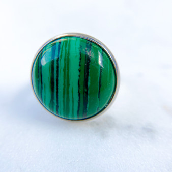 Malachite Ring 18mm