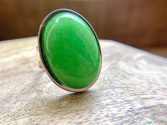 Jade Oval RIng